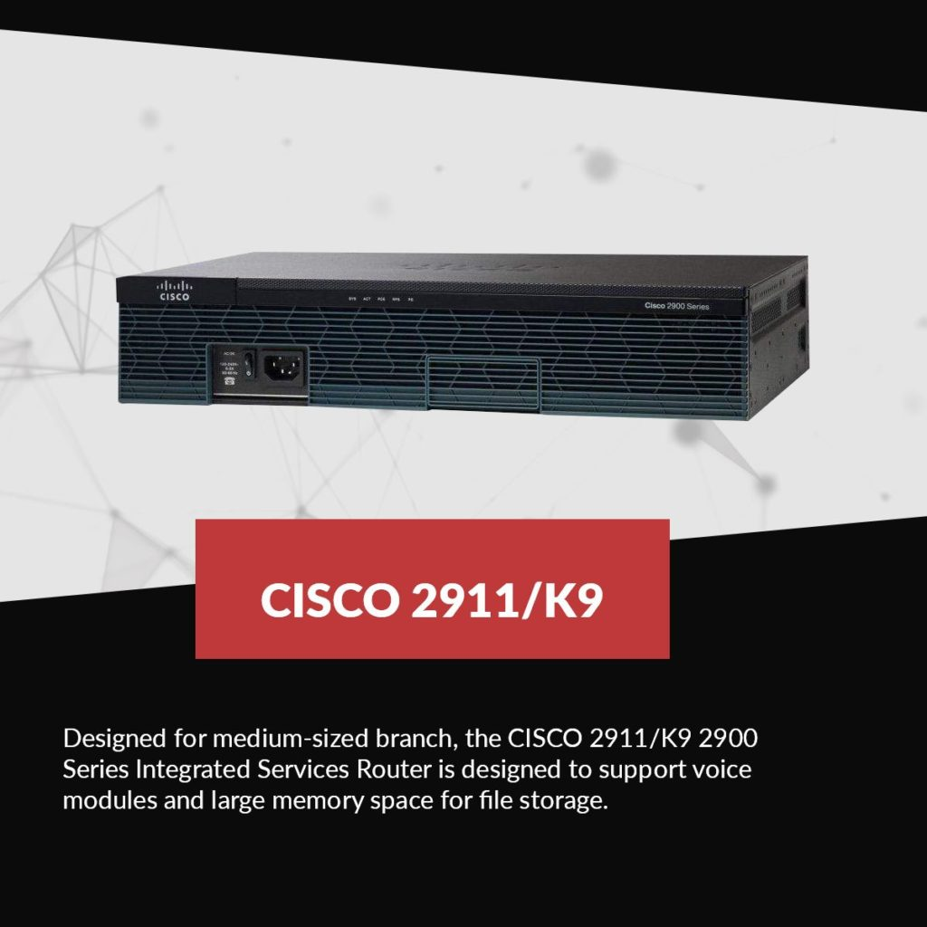 cisco 2911 k9 product
